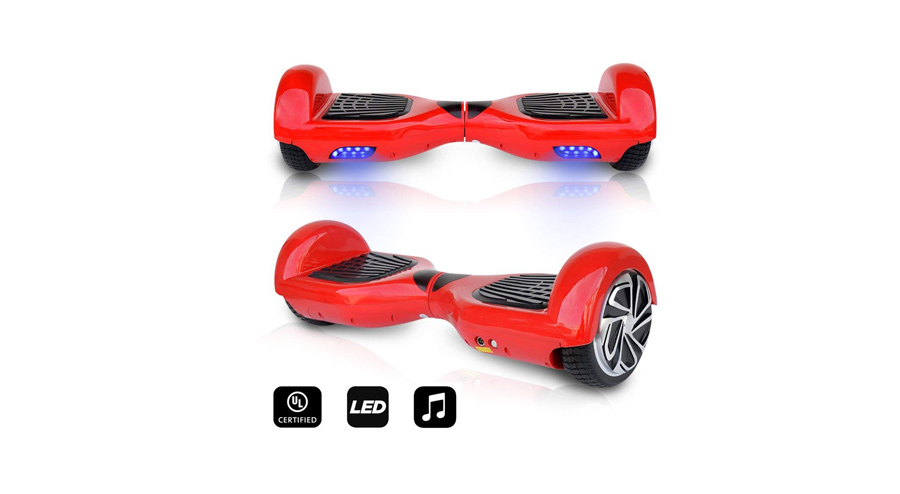 "CHO 6.5"" WHEELS ORIGINAL ELECTRIC SMART SELF BALANCING SCOOTER"