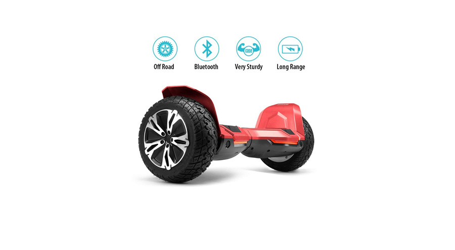 GYROOR WARRIOR 8.5 INCH ALL TERRAIN OFF-ROAD HOVERBOARD