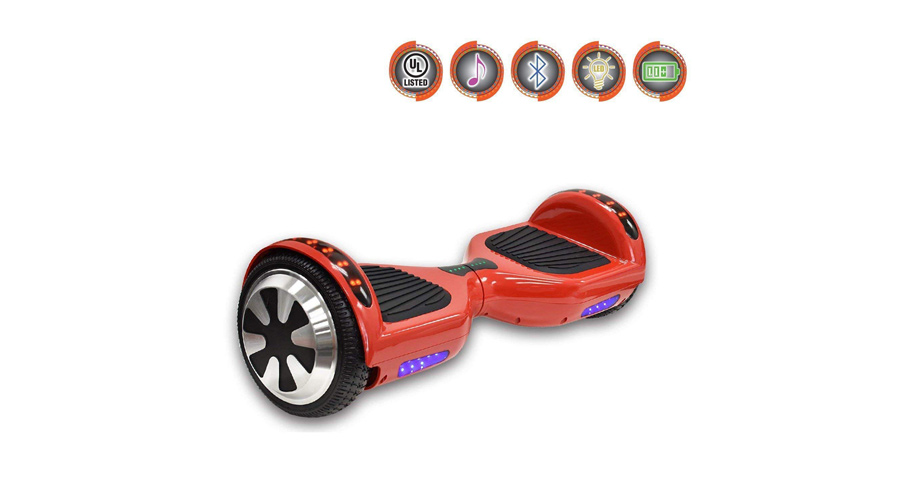 "NHT 6.5"" WHEEL HOVERBOARD ELECTRIC SMART SELF BALANCING SCOOTER"